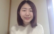 Student activist and representative of No Youth No Japan, Momoko Nojo speaks during an interview in Tokyo, Japan in this still image obtained from a video February 18, 2021. REUTERS TV via REUTERS